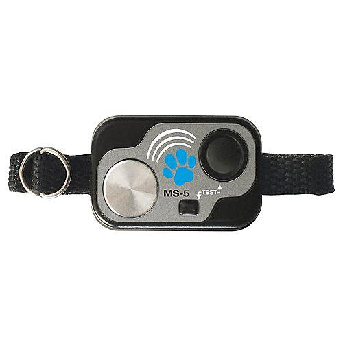 Collier ultrasonique numérique étanche à l'eau pour toutes les portes pour animaux de compagnie HTP