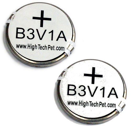 High Tech Pet Products Batterie, pour 2 colliers pour animaux MS-4 et MS-5