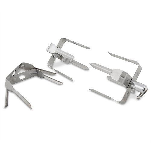 Stainless Steel Rotisserie Mega Forks