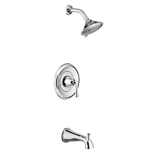 American Standard Estate Tub and Shower Trim Kit with Water-Saving Shower Head and Cartridge TU722508.002