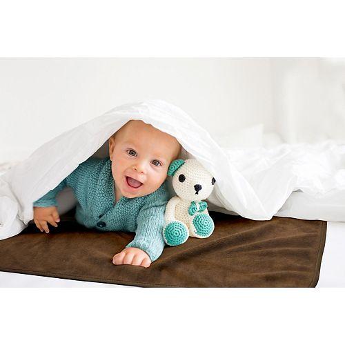 Couverture Imperméable pour Bébé en Taupe