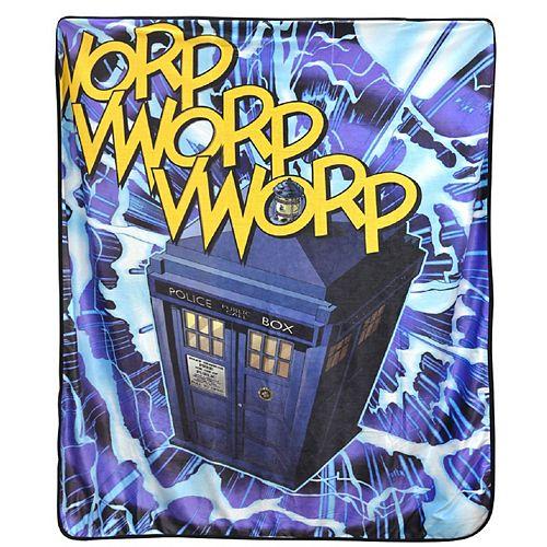 Jeté Dr Who Vwrop 127 cmx152 cm en Multi