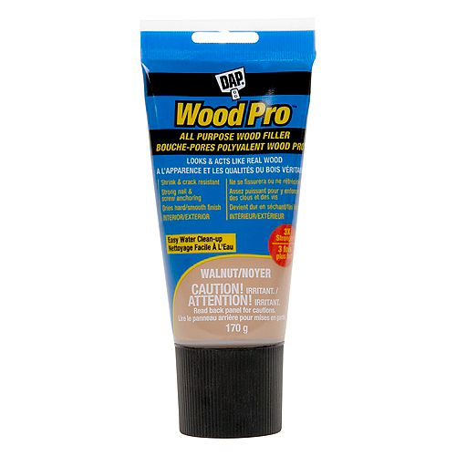 DAP WOODPRO All Purpose Latex Wood Filler 170G Walnut
