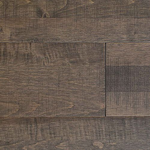 Maple Taupe Gluelam Chased Matte 3/4 in. Thick X 7 in. Wide X Random Solid Hardwood (16 sq.ft./box)