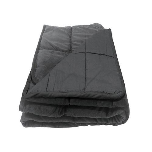 48x72 pouce 12lb. Couverture lestee matelasse et douillette PleasurePedic  pour grand lit Queen