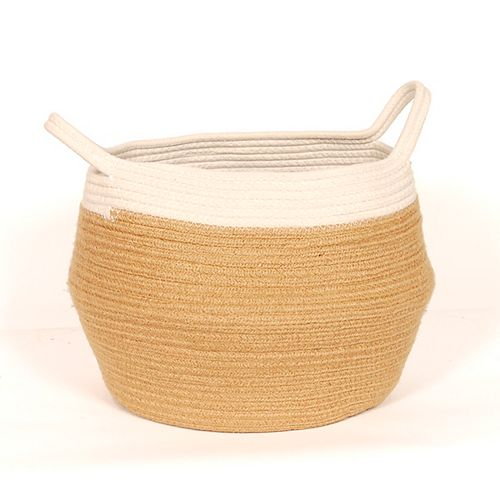 Extra Large Jute Belly Basket