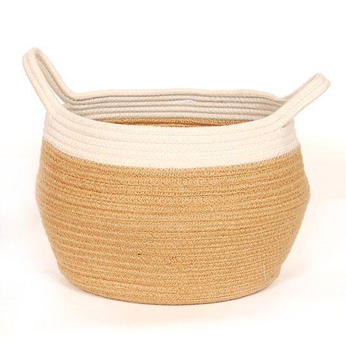 Large Jute Belly Basket