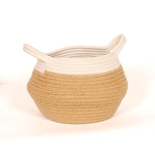 Medium Jute Belly Basket