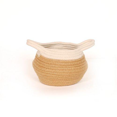 Small Jute Belly Basket