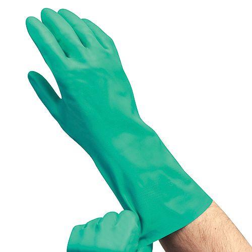 Everbilt Nitrile Reusable Glove - Medium