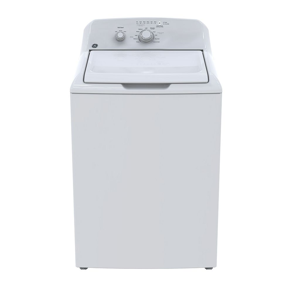 GE 4.4 Cu. Ft. Top Load Washer - White
