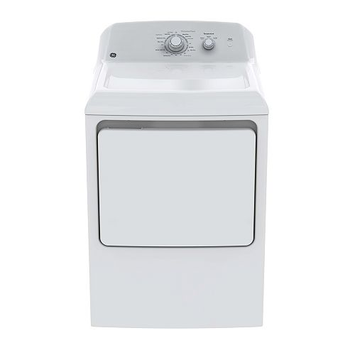 6.2 cu ft. Electric Dryer with DuraDrum - White