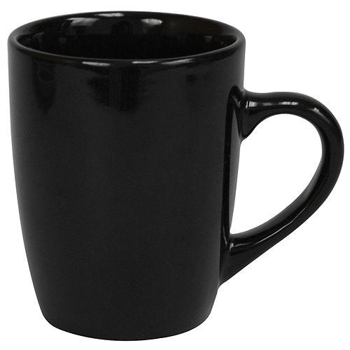 Mug en céramique de 13 oz, noir