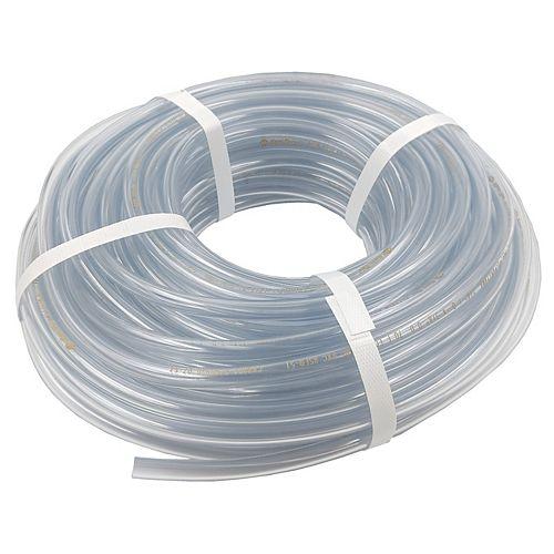 """Clear Vinyl Tubing,  1/4"""" inside diameter x 3/8"""" outside diameter x 100 ft coil."""