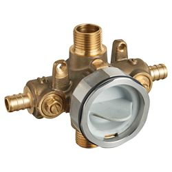 American Standard Flash Shower Rough-in Valve with PRX Inlet Elbows and Universal Outlets RU107SS