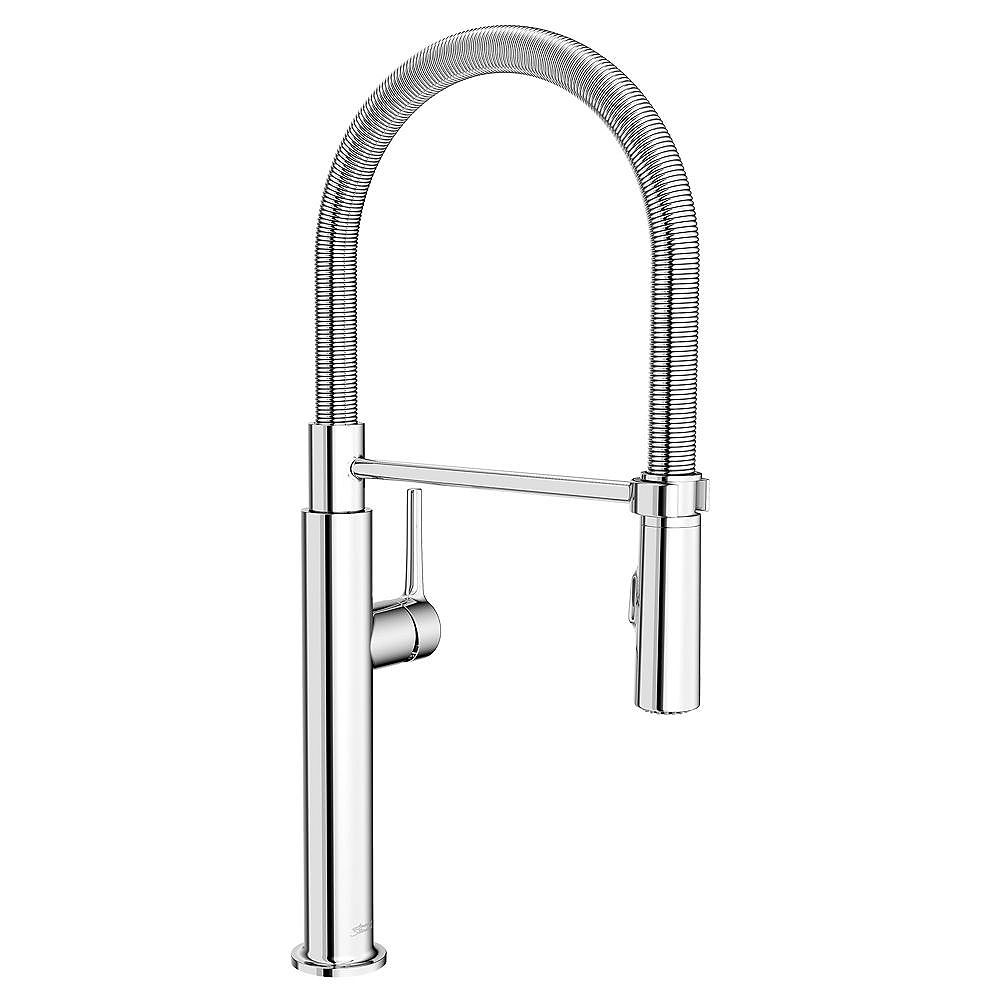 American Standard Studio S Single Handle Pull Down Sprayer Kitchen Faucet With Spring Spou The Home Depot Canada