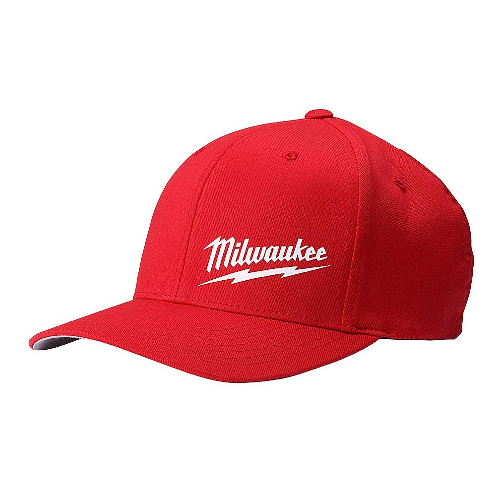 Milwaukee Tool Red Fitted Hat - Small/Medium