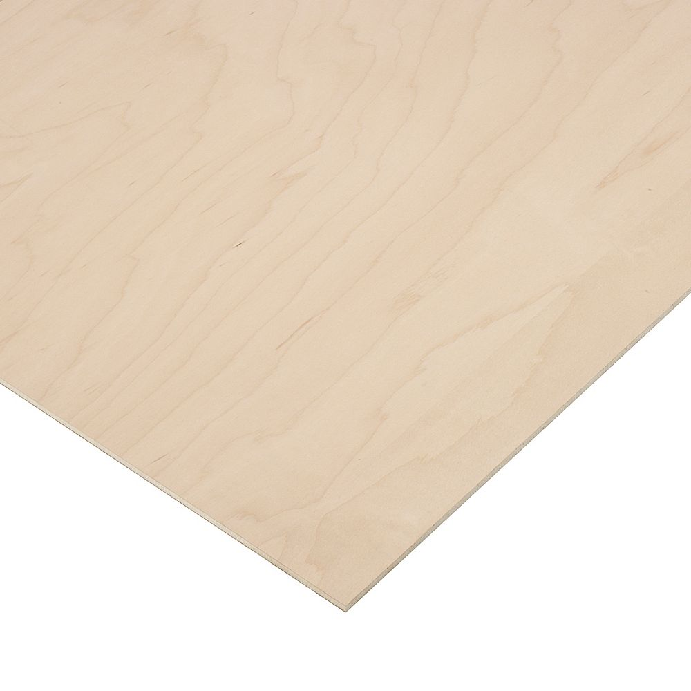 Columbia Forest Products 1/4 in. X 1 ft. X 1 ft. 7 in. Maple Plywood (10-pack)