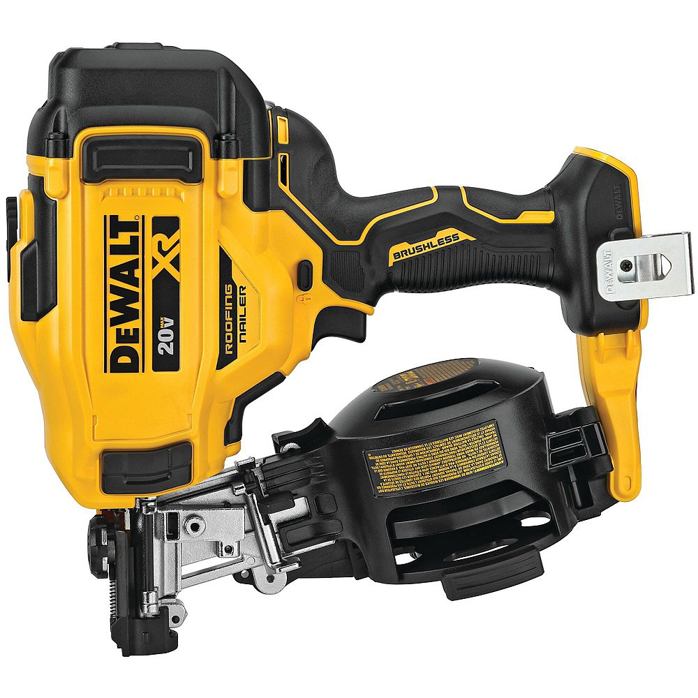 Dewalt 20V MAX 15-Degree Cordless Roofing Nailer (Tool-Only)