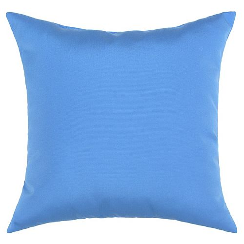 Bozanto Inc. Sunbrella Toss Cushion Light Blue