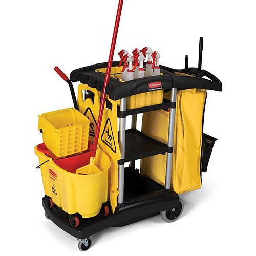 Janitorial Cleaning Cart - High Capacity