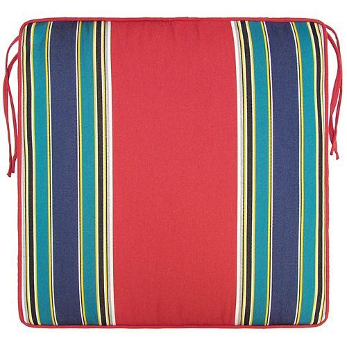 Bozanto Inc. Sunbrella Seat Cushion Multi Stripe