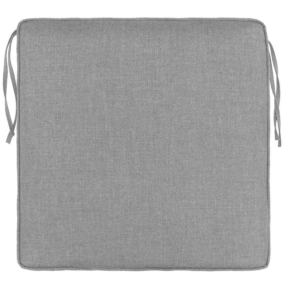 Bozanto Inc. Sunbrella Seat Cushion Grey