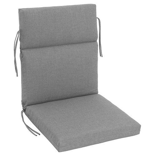 Sunbrella Highback Cushion Grey