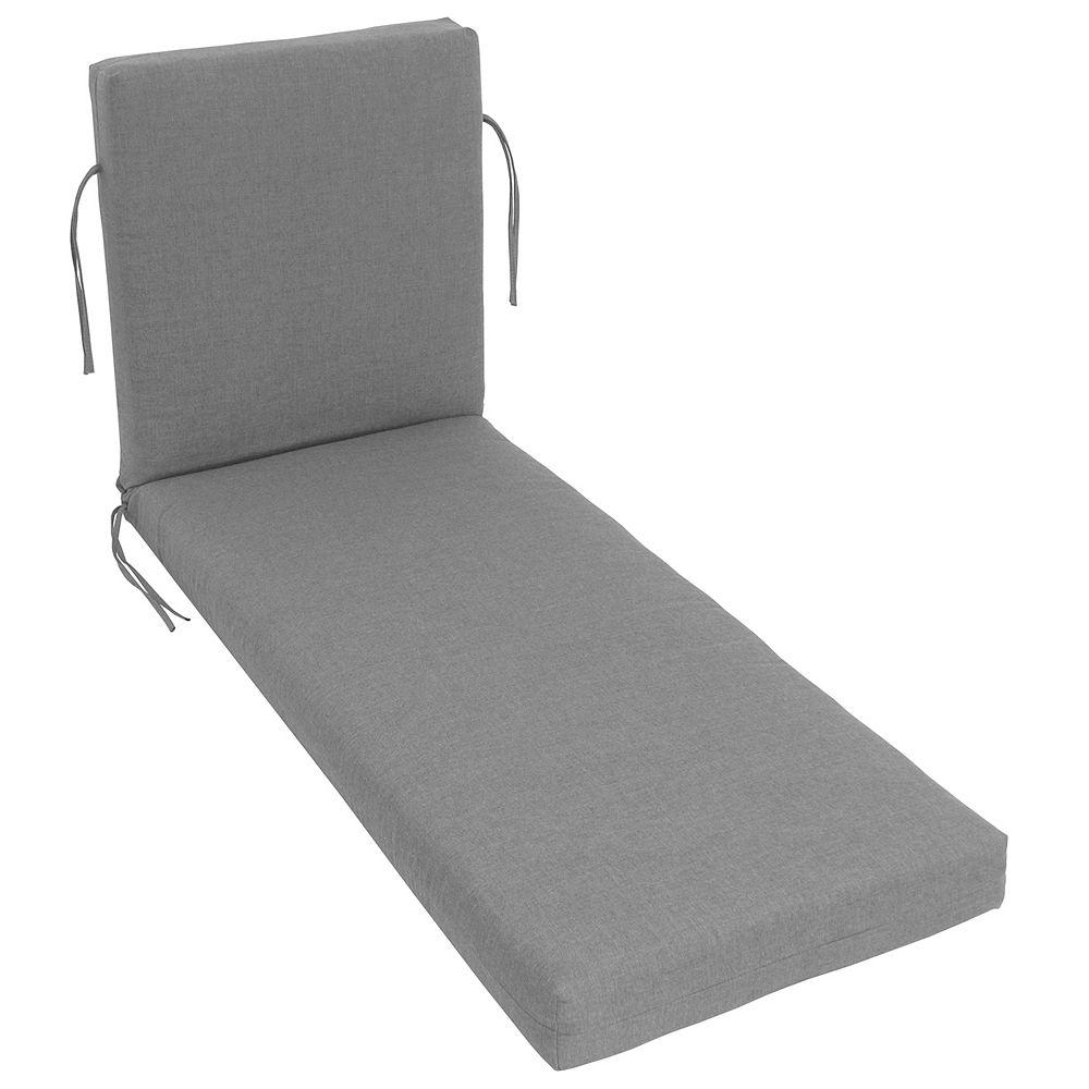 Bozanto Inc. Sunbrella Lounge Cushion Grey