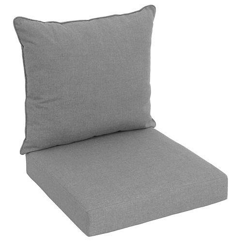 Sunbrella Deep Seating Cushion Grey