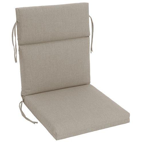 Bozanto Inc. Sunbrella Highback Cushion Beige