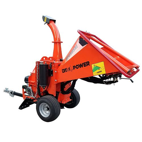 Power 5 inch auto feed chipper electric start