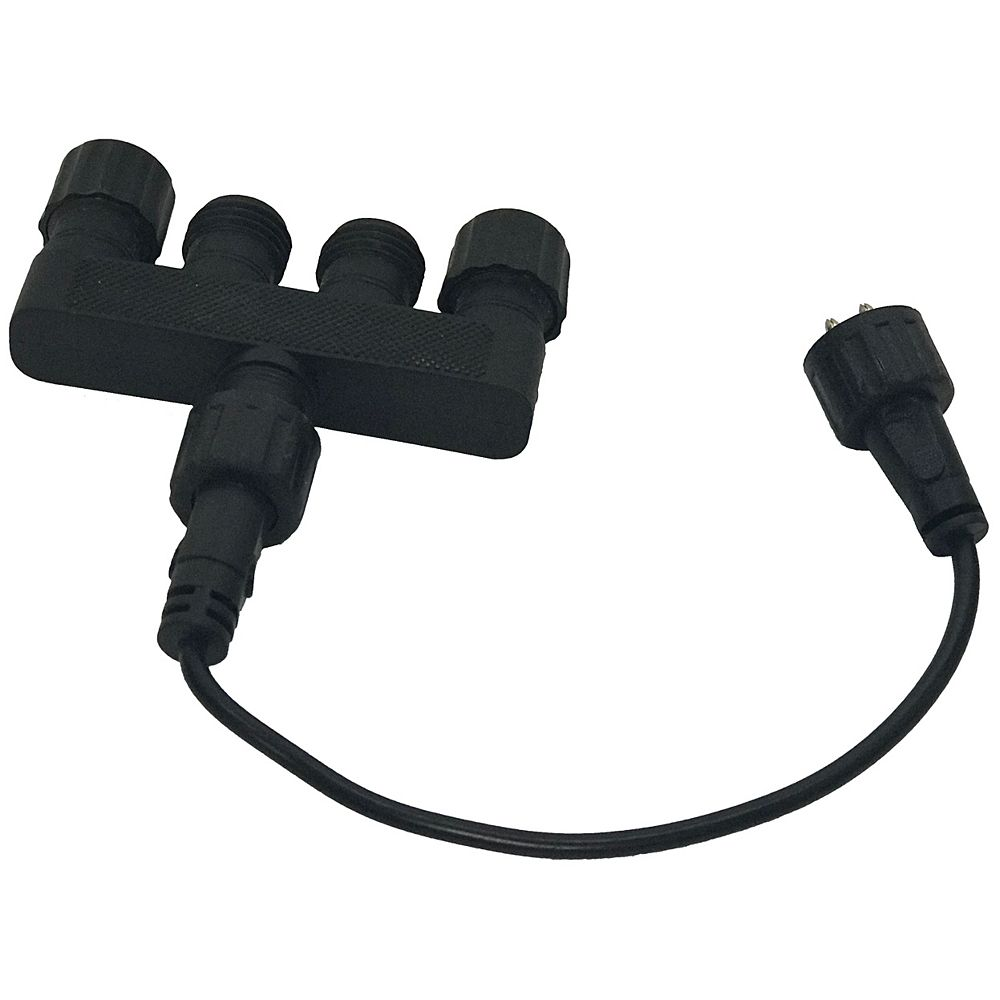 Angelo Décor 4-to-1 Low-Voltage Lighting Splitter / Connection Block