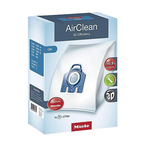 AirClean GN sacs à poussière Miele