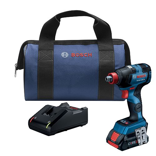 18V EC Brushless Freak Two-In-One Bit/Socket Impact Driver Kit