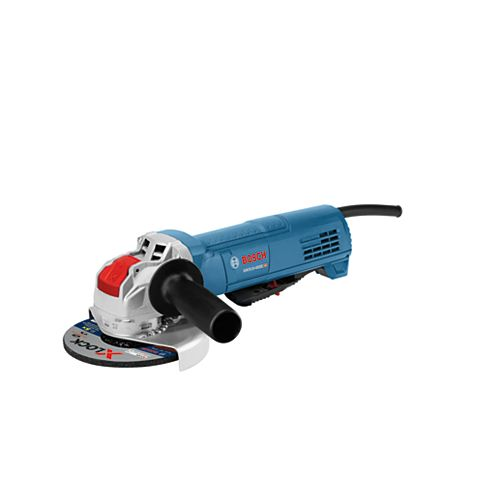 4-1/2 inch X-LOCK Ergonomic Angle Grinder with No Lock-On Paddle Switch