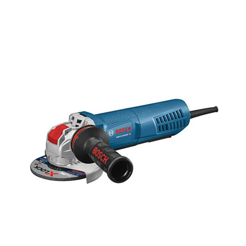5 inch X-LOCK Variable-Speed Angle Grinder with Paddle Switch