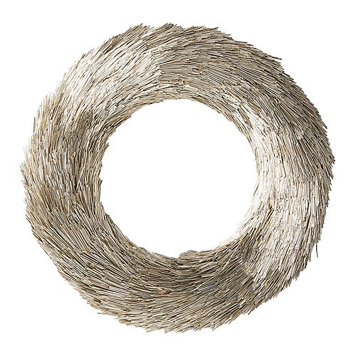 Home Accents Holiday 16 inch Battery Operated Gold LED Wreath