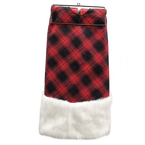 54 inch Tree Skirt Plaid