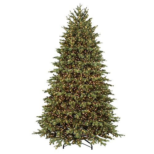 7.5 ft. 5000-Light Colour Changing Micro Dot LED Pre-Lit Cavalier Frasier Fir Christmas Tree