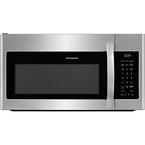 30-inch W 1.8 cu. ft. Over the Range Microwave in Stainless Steel