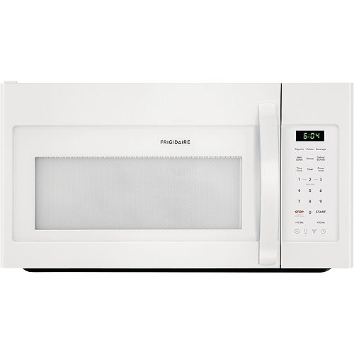 Frigidaire 30-inch W 1.8 cu. ft. Over the Range Microwave in White