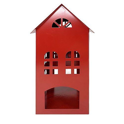 11 inch Metal House Lantern
