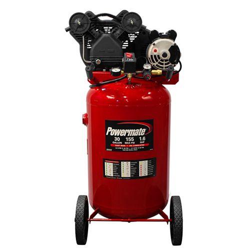 30 Gal. Vertical Portable Electric Air Compressor