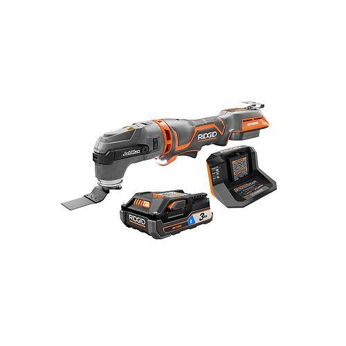 JobMax 18V avec kit de tête multi-outils