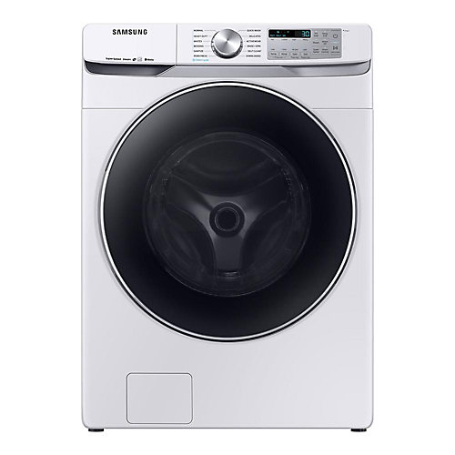5.2 cu. ft. High-Efficiency Front Load Washer with Steam in White -  ENERGY STAR®
