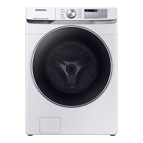 5.2 cu. ft. High-Efficiency Front Load Washer with Steam and Wi-Fi in White - ENERGY STAR®