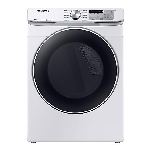 7.5 cu. ft. Electric Dryer with Steam in White - ENERGY STAR®