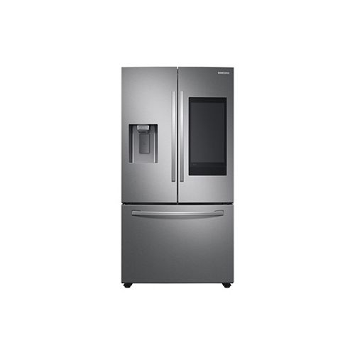 36-inch W 26.5 cu.ft. Smart French Door Refrigerator with Family Hub in Stainless Steel, Standard Depth - ENERGY STAR®