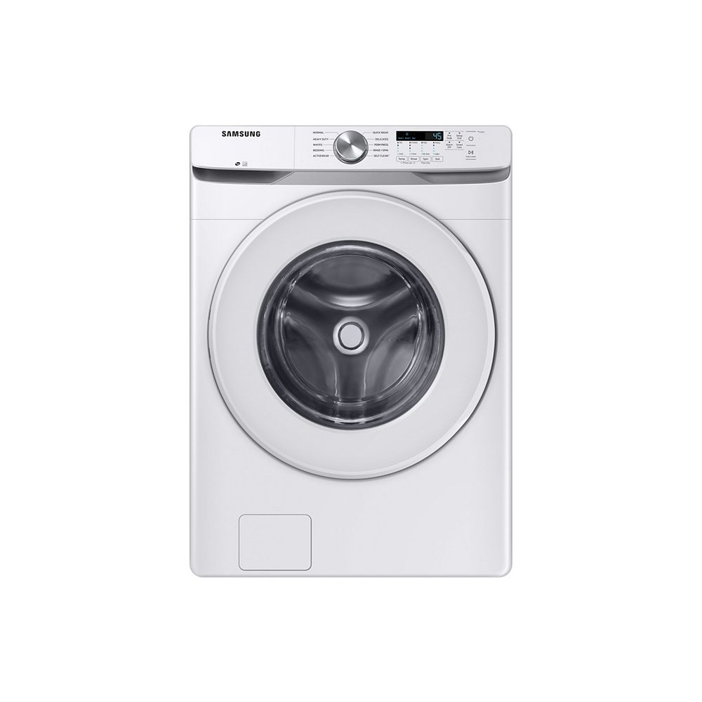 Samsung 5.2 cu. ft. High-Efficiency Front Load Washer in White - ENERGY STAR®